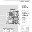 Grundig CUC-2021 Chassis Service Manual. Mauritron #710