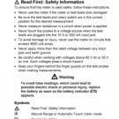 Fluke 70 III User Instructions. Mauritron #727