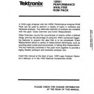 Tektronix 12R01 Instruction Guide. Mauritron #754