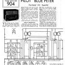 Pilot Blue Peter Service Schematics. Mauritron #879
