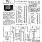 Pilot Jack Service Schematics. Mauritron #882