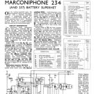 Marconi 257 Service Schematics. Mauritron #1013