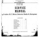 Marconi 853 Service Schematics. Mauritron #1036
