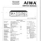 Aiwa AD-6900 Service Manual. Mauritron #1114