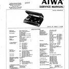 Aiwa AF-5300EK Service Manual. Mauritron #1119