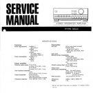 Aiwa XA-005 Service Manual. Mauritron #1139