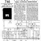Philco 471CG Trader Service Schematics. Mauritron #1174