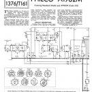 Philco A1962M Trader Schematics. Mauritron #1186
