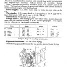 Philco A3608 Trader Service Schematics. Mauritron #1188