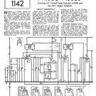 Philco A3626 Trader Service Schematics. Mauritron #1191