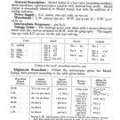 Philco A3650 Trader Service Schematics. Mauritron #1195