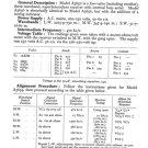Philco A3656 Trader Service Schematics. Mauritron #1196