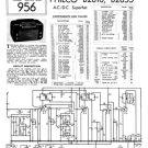 Philco B2810 Trader Service Schematics. Mauritron #1205