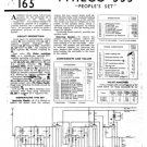 Philco PEOPLES SET Trader Schematics. Mauritron #1214