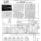 Mullard MAS5 Service Schematics. Mauritron #1219