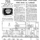 Mullard MAS6 Service Schematics. Mauritron #1220