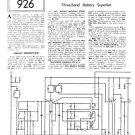Mullard MBS147 Service Schematics. Mauritron #1224