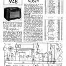 Mullard MUS271 Service Schematics. Mauritron #1226