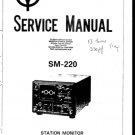 Kenwood SM220 Service Manual. Mauritron #1247