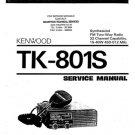 Kenwood TK801S Service Manual. Mauritron #1254