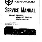 Trio SP120 Service Manual. Mauritron #1327