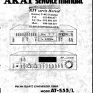 Akai AMU55 Service Manual. Mauritron #1553