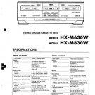Akai HXM830W Service Manual. Mauritron #1584