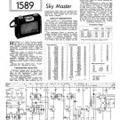 Ever Ready SKY MASTER Schematics. Mauritron #1607