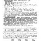 Ferguson 209U Service Information. Mauritron #1702