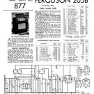 Ferguson 215B Service Information. Mauritron #1704