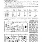 Ferguson 288RG Service Information. Mauritron #1719
