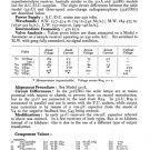 Ferguson 322URG Service Information. Mauritron #1737