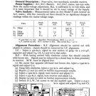 Ferguson 342BU Service Information. Mauritron #1745
