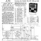 Ultra 105 Vintage Service Schematics. Mauritron #1763