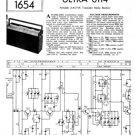 Ultra 6114 Vintage Service Schematics. Mauritron #1770