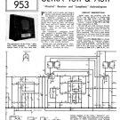 Ultra A611 Vintage Service Schematics. Mauritron #1783