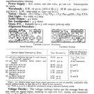 Ultra T406 Vintage Service Schematics. Mauritron #1801