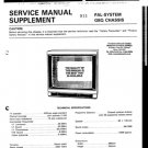 Hitachi C2519T Service Manual. Mauritron #1826