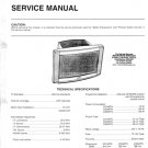 Hitachi C2846TN Service Manual. Mauritron #1831
