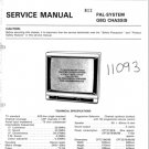 Hitachi CPT2198 Service Manual. Mauritron #1843