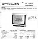 Hitachi CPT2578 Service Manual. Mauritron #1846