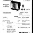 Sony KVX2532U Service Manual. Mauritron # 1856
