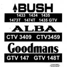 Goodmans GTV147 Service Manual Mauritron #2366