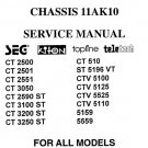 Topline CT2551 Service Manual Mauritron #2433