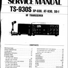 Kenwood TS930S Service Manual Mauritron #2546