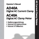 Wavetek AD40A Operating Guide Mauritron #2774