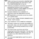 AVO LT7 Instructions. Mauritron #2810