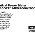 Megger MPM2000 Instructions. Mauritron #2995