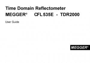 Olman Instruments CFL535E Instructions. Mauritron #3124