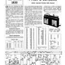 Philips 22RL280 Service Schematics. Mauritron #3210